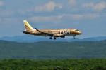 JA946さんが、新千歳空港で撮影したフジドリームエアラインズ ERJ-170-200 (ERJ-175STD)の航空フォト(写真)