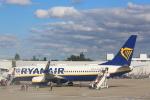 安芸あすかさんが、トゥールーズ・ブラニャック空港で撮影したライアンエア 737-8ASの航空フォト(写真)