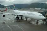 furuさんが、香港国際空港で撮影した南アフリカ航空 A340-313Xの航空フォト(写真)
