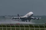 N.Naokiさんが、新千歳空港で撮影したタイ国際航空 747-4D7の航空フォト(写真)