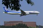 多楽さんが、成田国際空港で撮影した全日空 777-381/ERの航空フォト(写真)