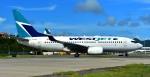 kamerajiijiさんが、プリンセス・ジュリアナ国際空港で撮影したウェストジェット 737-7CTの航空フォト(写真)