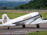 Mame @ TYOさんが、福島空港で撮影したスーパーコンステレーション飛行協会 DC-3Aの航空フォト(写真)
