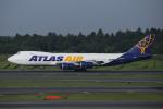 カンクンさんが、成田国際空港で撮影したアトラス航空 747-87UF/SCDの航空フォト(写真)