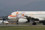 撮り空ひでさんが、静岡空港で撮影した天津航空 A320-232の航空フォト(写真)