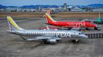 ぱん_くまさんが、名古屋飛行場で撮影したフジドリームエアラインズ ERJ-170-200 (ERJ-175STD)の航空フォト(写真)