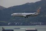 トールさんが、香港国際空港で撮影したミャンマー・ナショナル・エアウェイズ 737-86Nの航空フォト(写真)