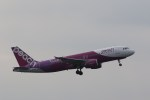 どりーむらいなーさんが、成田国際空港で撮影したピーチ A320-214の航空フォト(写真)