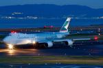 よっしぃさんが、関西国際空港で撮影したキャセイパシフィック航空 747-867F/SCDの航空フォト(写真)