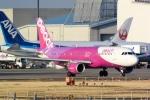 panchiさんが、成田国際空港で撮影したピーチ A320-214の航空フォト(写真)