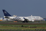 多楽さんが、成田国際空港で撮影したチャイナエアライン 747-409の航空フォト(写真)