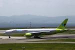MOHICANさんが、関西国際空港で撮影したジンエアー 777-2B5/ERの航空フォト(写真)