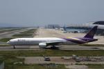 MOHICANさんが、関西国際空港で撮影したタイ国際航空 777-3D7の航空フォト(写真)