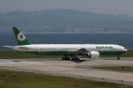 MOHICANさんが、関西国際空港で撮影したエバー航空 777-35E/ERの航空フォト(写真)