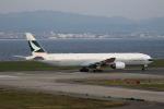 MOHICANさんが、関西国際空港で撮影したキャセイパシフィック航空 777-367の航空フォト(写真)