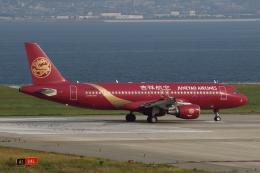 MOHICANさんが、関西国際空港で撮影した吉祥航空 A320-214の航空フォト(写真)