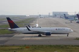 MOHICANさんが、関西国際空港で撮影したデルタ航空 767-3P6/ERの航空フォト(写真)