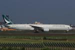 多楽さんが、成田国際空港で撮影したキャセイパシフィック航空 777-367の航空フォト(写真)