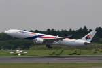 こだしさんが、成田国際空港で撮影したマレーシア航空 A330-323Xの航空フォト(写真)