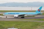 きゅうさんが、関西国際空港で撮影した大韓航空 777-FB5の航空フォト(写真)