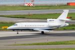 きゅうさんが、関西国際空港で撮影した不明 Falcon 900EXの航空フォト(写真)
