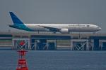 Simeonさんが、羽田空港で撮影したガルーダ・インドネシア航空 777-3U3/ERの航空フォト(写真)