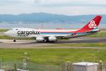 きゅうさんが、関西国際空港で撮影したカーゴルクス 747-4R7F/SCDの航空フォト(写真)