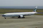 せせらぎさんが、中部国際空港で撮影したキャセイパシフィック航空 777-367の航空フォト(写真)
