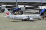 せせらぎさんが、中部国際空港で撮影した日本航空 737-846の航空フォト(写真)