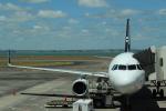 関西のカメラマンさんが、オークランド空港で撮影したニュージーランド航空 A320-232の航空フォト(写真)