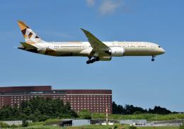mojioさんが、成田国際空港で撮影したエティハド航空 787-9の航空フォト(写真)