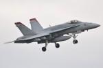 デルタおA330さんが、茨城空港で撮影したアメリカ海兵隊 F/A-18C Hornetの航空フォト(写真)