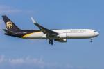 mameshibaさんが、成田国際空港で撮影したUPS航空 767-34AF/ERの航空フォト(写真)