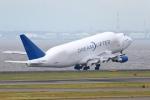 多摩川崎2Kさんが、中部国際空港で撮影したボーイング 747-4H6(LCF) Dreamlifterの航空フォト(写真)