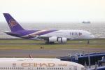 多摩川崎2Kさんが、中部国際空港で撮影したタイ国際航空 A380-841の航空フォト(写真)