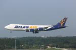 meijeanさんが、成田国際空港で撮影したアトラス航空 747-87UF/SCDの航空フォト(写真)