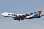 camelliaさんが、成田国際空港で撮影したアトラス航空 747-87UF/SCDの航空フォト(写真)