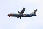 Masahiro0さんが、スワンナプーム国際空港で撮影したバンコクエアウェイズ ATR-72-500 (ATR-72-212A)の航空フォト(写真)