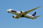 X8618さんが、成田国際空港で撮影したLOTポーランド航空 787-8 Dreamlinerの航空フォト(写真)