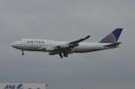 amagoさんが、成田国際空港で撮影したユナイテッド航空 747-422の航空フォト(写真)