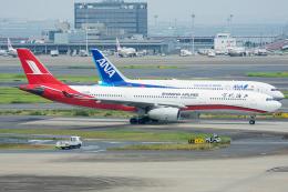 Tomo-Papaさんが、羽田空港で撮影した上海航空 A330-343Xの航空フォト(写真)