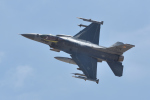 じゃまちゃんさんが、ネリス空軍基地で撮影したアメリカ空軍 F-16CJ Fighting Falconの航空フォト(写真)