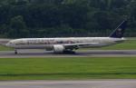 Willieさんが、シンガポール・チャンギ国際空港で撮影したサウディア 777-368/ERの航空フォト(写真)