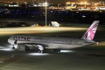 kikiさんが、羽田空港で撮影したカタール航空 A350-941XWBの航空フォト(写真)