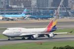 虎太郎19さんが、福岡空港で撮影したアシアナ航空 747-48Eの航空フォト(写真)