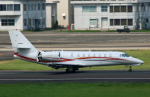 Wasawasa-isaoさんが、名古屋飛行場で撮影した朝日航洋 680 Citation Sovereignの航空フォト(写真)