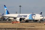 StarMarineさんが、成田国際空港で撮影したエジプト航空 777-36N/ERの航空フォト(写真)