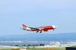 hankyu7305さんが、関西国際空港で撮影したエアアジア・エックス A330-343Xの航空フォト(写真)