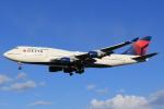 StarMarineさんが、成田国際空港で撮影したデルタ航空 747-451の航空フォト(写真)