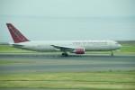 かみきりむしさんが、中部国際空港で撮影したオムニエアインターナショナル 767-3Q8/ERの航空フォト(写真)